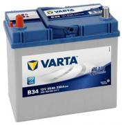 Акумулатори Varta Blue Dynamic VARTA BLUE DYNAMIC 45AH 330 L+  129.20 ЛВ.
