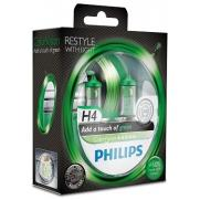 Крушки 12V H4 12V Philips PHILIPS H4 12V 60/55W COLOR VISION GREEN                 70.00 ЛВ.