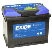 Акумулатори Exide Excell EXIDE EXCELL 62AH 540A L+  144.00 ЛВ.
