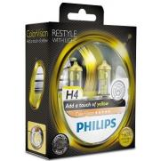 Крушки 12V H4 12V Philips PHILIPS H4 12V 60/55W COLOR VISION YELLO                 70.00 ЛВ.