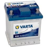 Акумулатори Varta Blue Dynamic VARTA BLUE DYNAMIC 44AH 420 R+  126.60 ЛВ.