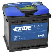 Акумулатори Exide Excell EXIDE EXCELL 50AH 450A R+  145.00 ЛВ.