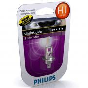 Крушки 12V H1 12V Philips PHILIPS H1 12V 55W  NIGHT GUIDE                 21.00 ЛВ.