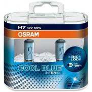 Крушки 12V H7 12V OSRAM H7 12V 55W COOL BLUE INTENSE КОМПЛЕКТ  31.40 ЛВ.