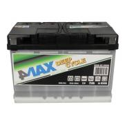 Акумулатори 4Max 4MAX BATTERY DEEP CYCLE 75AH 500A R+  215.00 ЛВ.