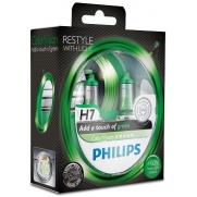 Крушки 12V H7 12V Philips PHILIPS H7 12V 55W COLOR VISION GREEN КОМПЛЕКТ                 88.00 ЛВ.
