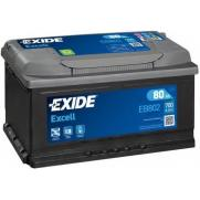Акумулатори Exide Excell EXIDE EXCELL 80AH 700A R+  192.00 ЛВ.