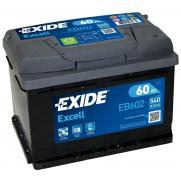 Акумулатори Exide Excell EXIDE EXCELL 62AH 540A R+  165.00 ЛВ.