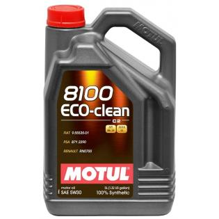 MOTUL 8100 ECO-CLEAN 5W-30 - 5 ЛИТРA