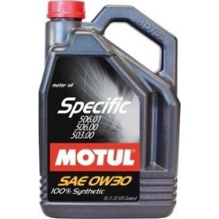 MOTUL SPECIFIC VW 506.01-506.00-503.00 0W-30 - 5 ЛИТРА